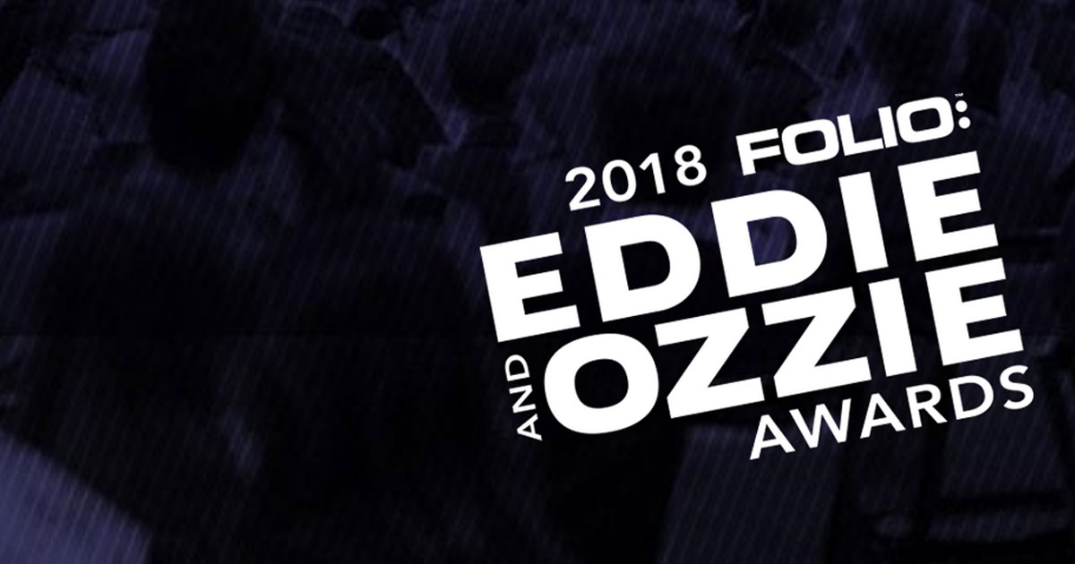 2018 Eddie and Ozzie Award Finalists Announced!